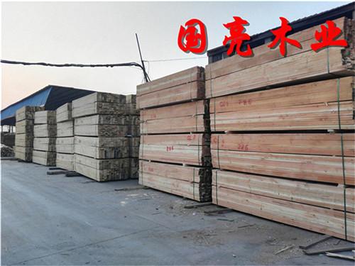 【加拿大进口木材铁杉口料铁杉木方上海国亮木业】