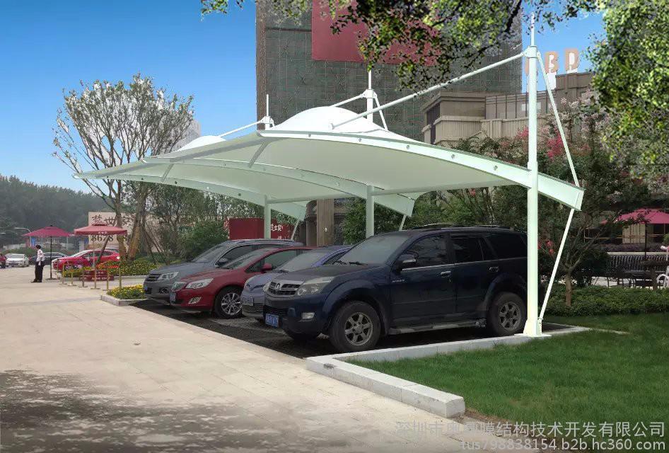 奥鼎膜结构工程承包|深圳车棚膜结构、景观膜结构设计