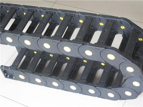 tl塑料拖链厂家、安徽塑料拖链厂家、沧一机床附件(图)