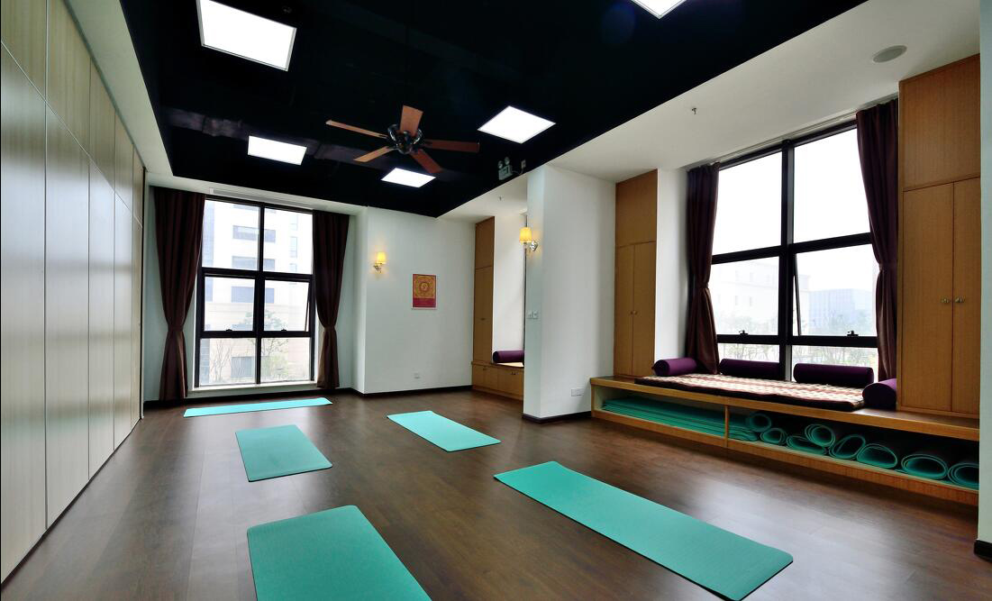 成都瑜伽馆装修设计,瑜伽教室室内设计装修