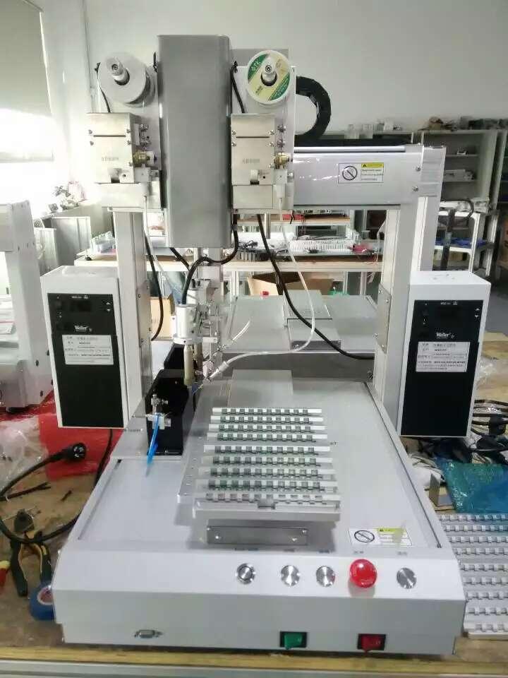 【科晟泰遥控器电路板专用自动焊锡机器人】价格