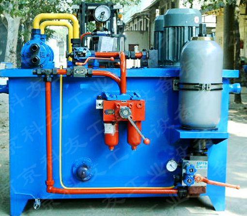 提示一:本张紧液压控制系统正式投入使用前,应确认已接入电气控制系