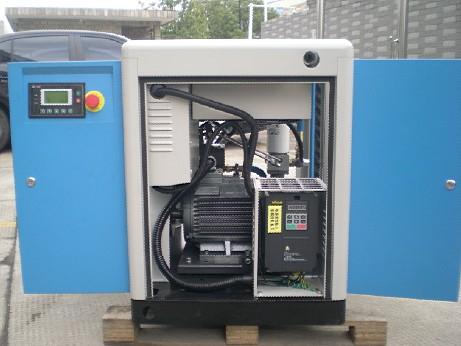 汉赛德螺杆空压机 厂家直销220v变频压缩机气泵