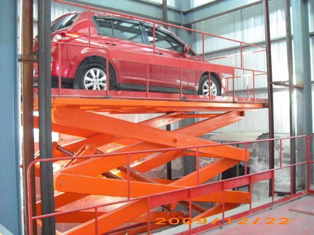 梯 大吨位载车升降机 剪叉式汽车举升机