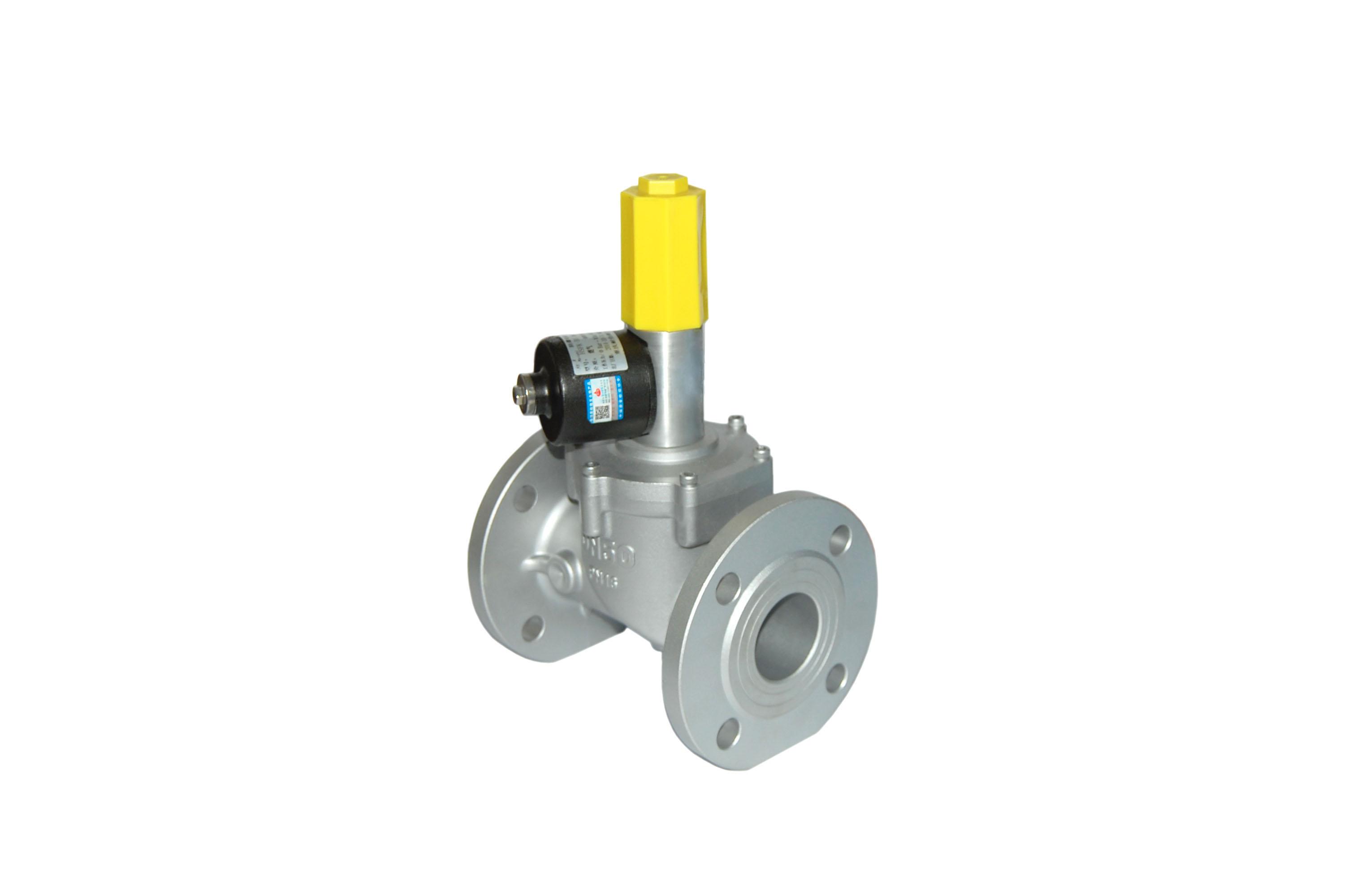 电动阀门执行器 >山东泰安dn50天然气电磁阀 天然气紧急切断阀图片