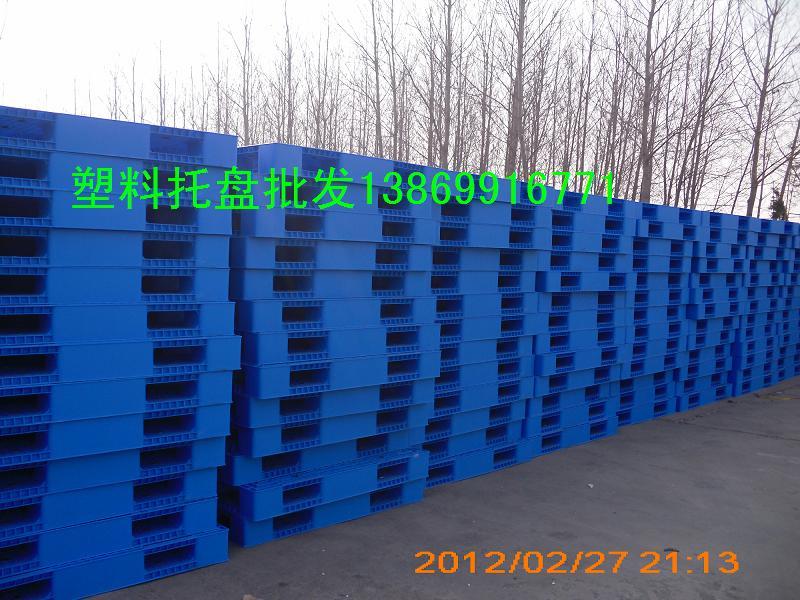 九脚网格1210塑料托盘,滨州塑料托盘