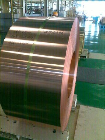 折弯加工1.5MMTU2超厚紫铜带落无氧红铜带