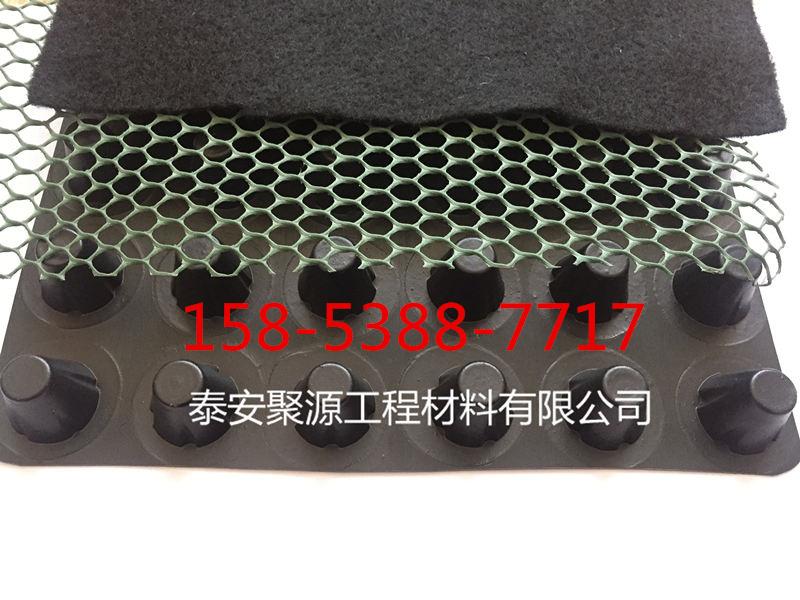 0.8公分防水板厂家供应 塑料排水保护板》利川市今日报价