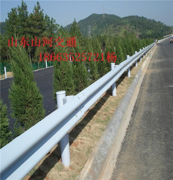 供应贵州高速公路镀锌护栏板 喷塑护栏板