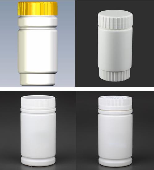 竹节塑料瓶、直筒塑料瓶、直上直下塑料瓶