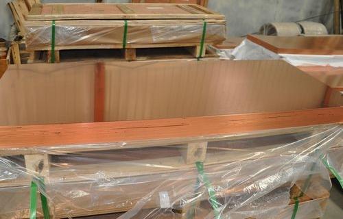 中山8.0mm紫铜板生产厂家 C1100高精红铜板