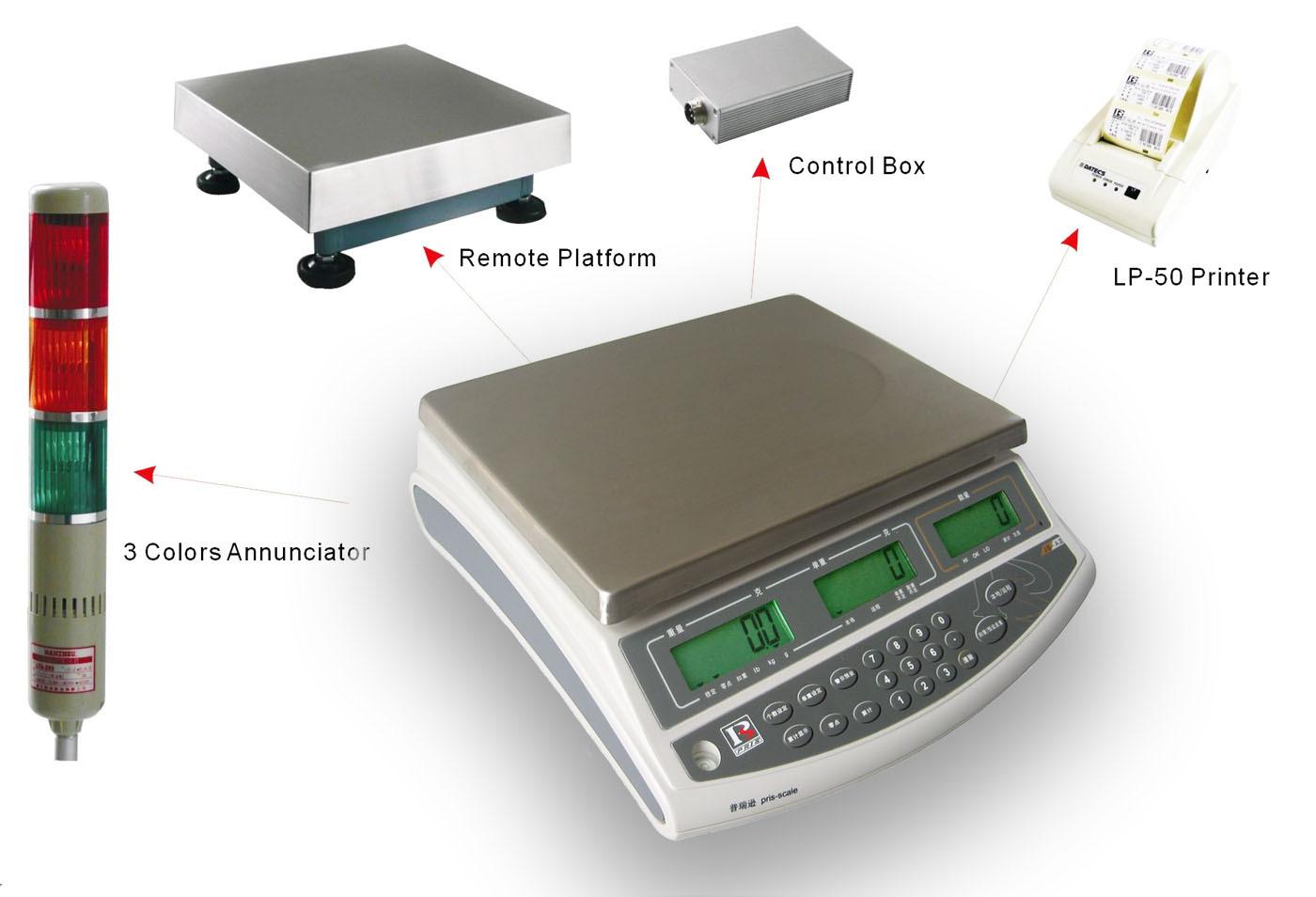 200公斤無線傳輸連WiFi秤價格,廣州高端電子稱定
