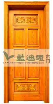 平板(装板)烤漆实木门工艺差别%大同套装