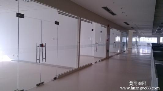 房山区石楼安装各种玻璃门玻璃隔断