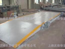 合肥废品厂100吨电子汽车秤,100T模