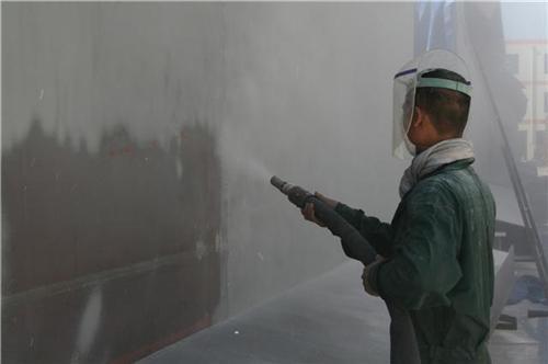 潍坊弘盛钢结构|喷砂除锈施工|潍城喷砂除锈