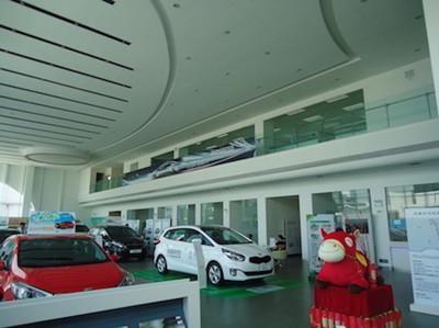 汽车展厅室内装修报价 上海汽车展厅室内装修报价 孝德供