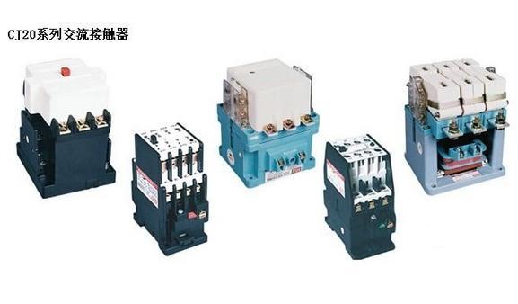 交流接电动机,并可与适当的热过载继电器组成电磁