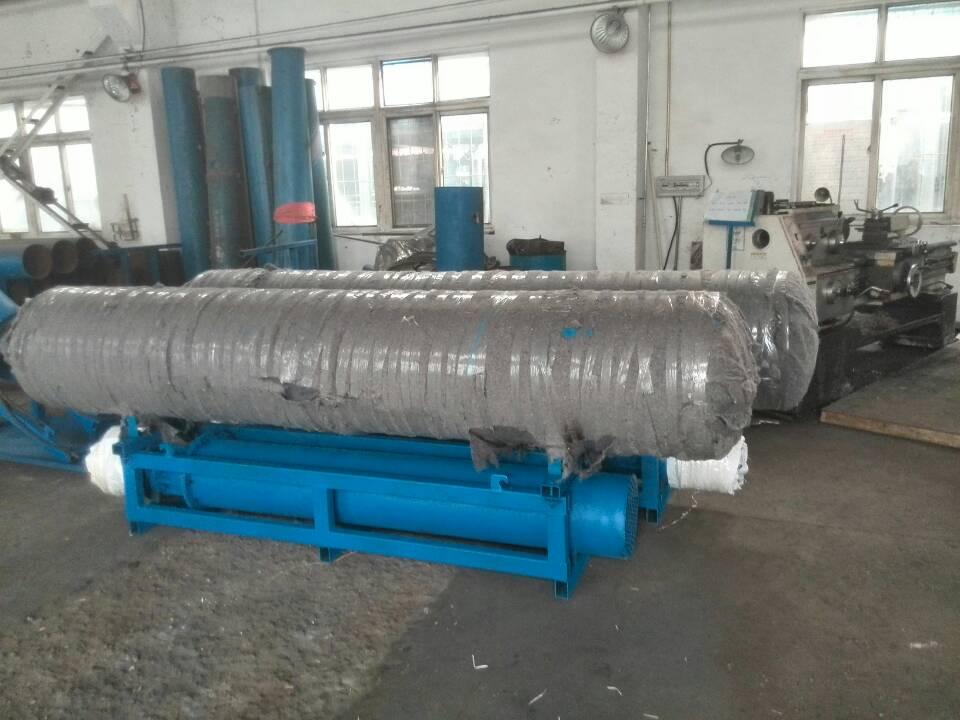 中蓝泵业专利浮筒式水库取水泵卧式漂浮潜水泵