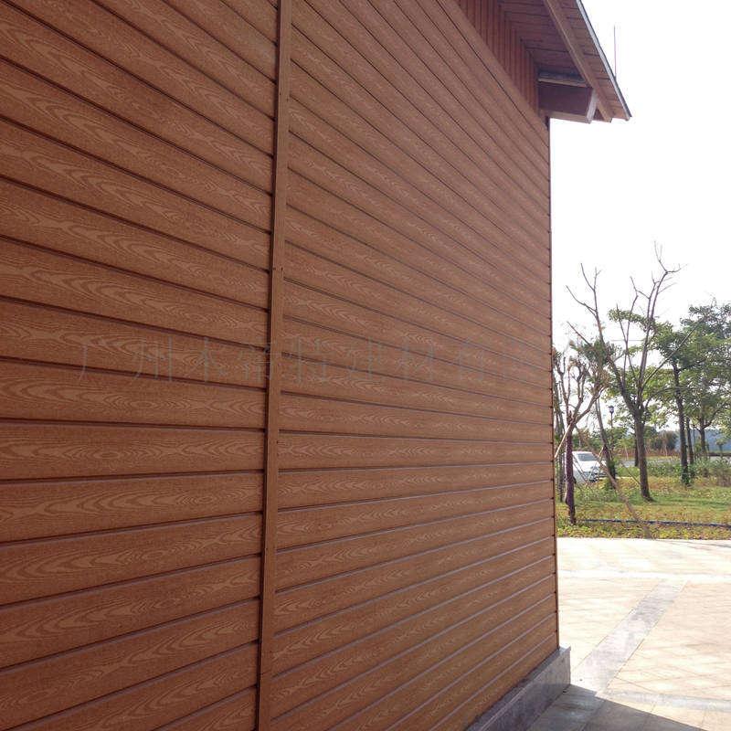 环保新型塑木墙板145s20实心墙板