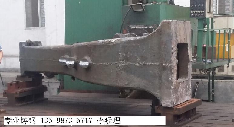 四川德阳铸钢件电液锤支架 立柱 大座 底座定制加工