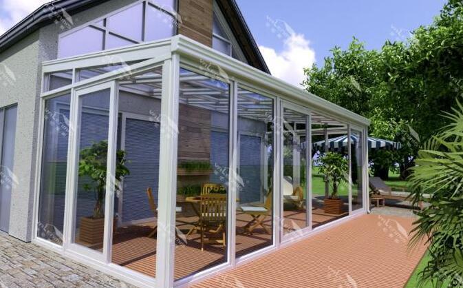 4,u型玻璃:一种新型保温玻璃,适合做阳光房屋顶.