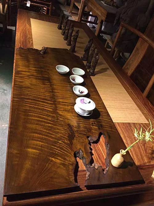 大板,时尚气派,原木红木大板桌