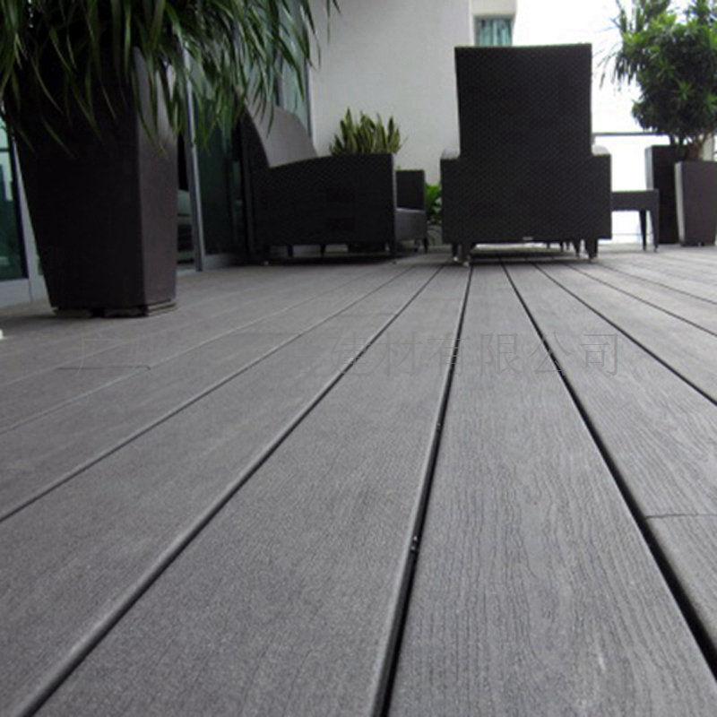 露天阳台木塑地板 140s30b实心户外地板 木地板厂家直销 绿色环保