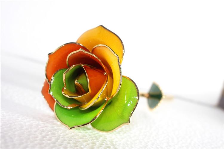 黛雅精美定制款七彩玫瑰 七彩人生 厂家直批
