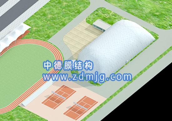 溜冰馆气膜-煤场充气膜建筑