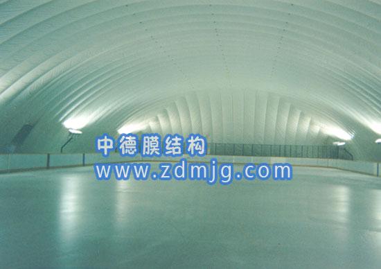 溜冰场气膜,溜冰场充气膜,找中德