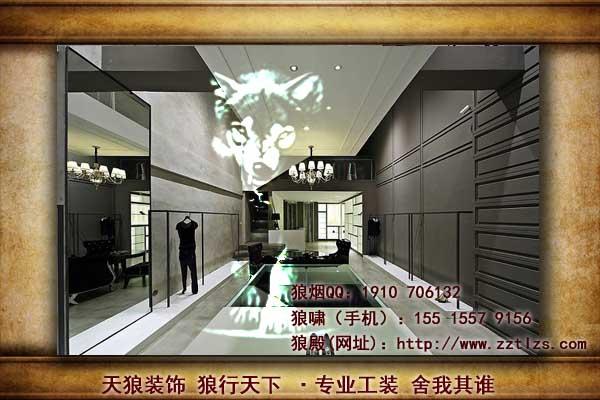 服装店装修设计当取好店名后,服装店装修就要考虑服装店设计招牌.