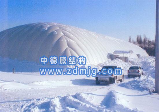 溜冰场气膜-充气膜馆-深圳中德膜结构