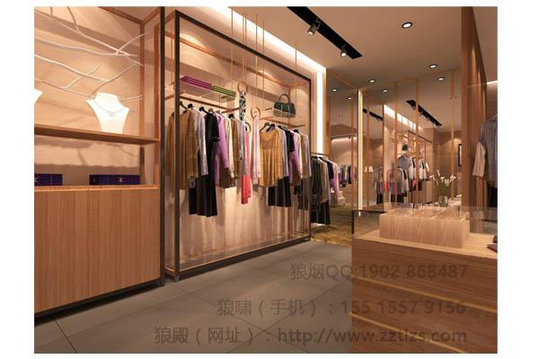 韩式服装店装修风格专业定制服装店设计工艺质量国内