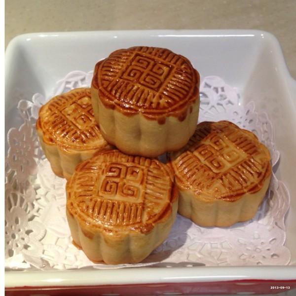 月饼制作大全五仁月饼京式月饼制作过程