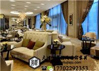 天津U型卡座沙发 L型卡座沙发 异形卡坐沙发