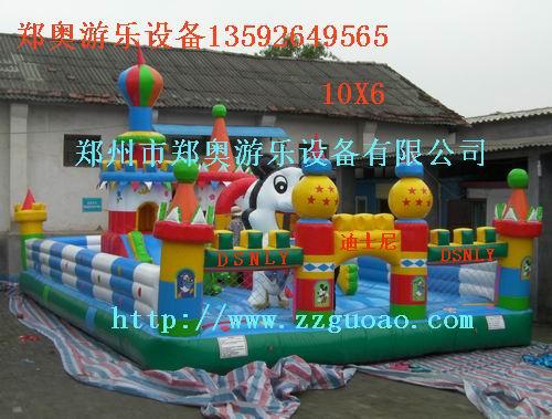 郑州郑奥游乐玩具厂家热销迪士尼城堡现货儿
