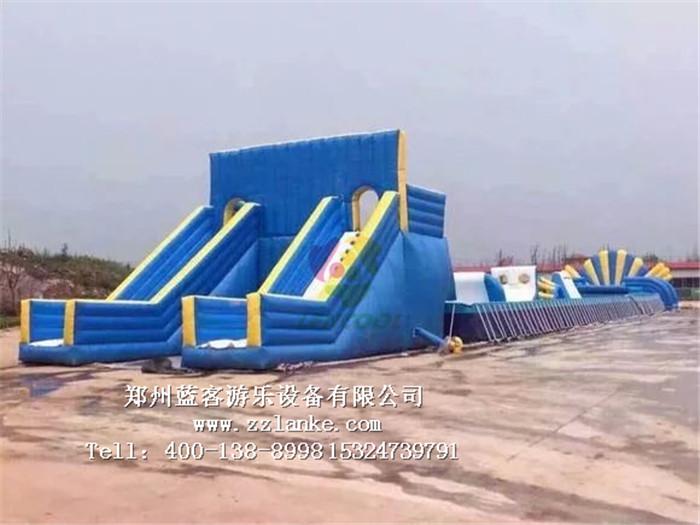 水上冲关游乐设备儿童水上娱乐设施