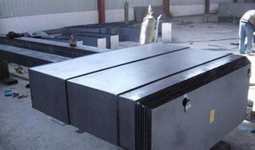 奥兰机床附件铁护罩|白银机床防护拉板|金属机床防护拉板