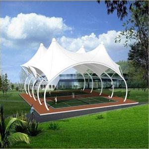 供甘肃网球场膜结构和兰州膜结构收费站优质
