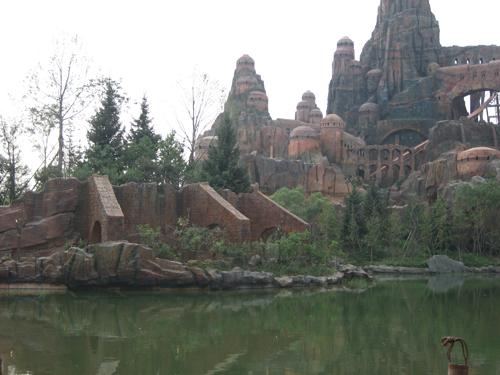 上海鹤石旅游景区景区假山厂家直销