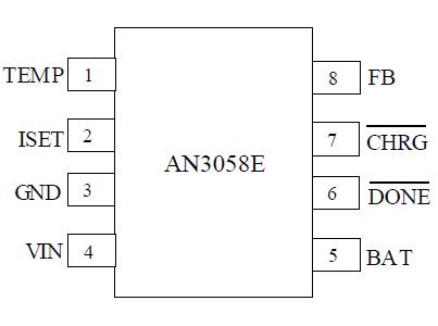 独立的单节磷酸铁锂电池充电管理