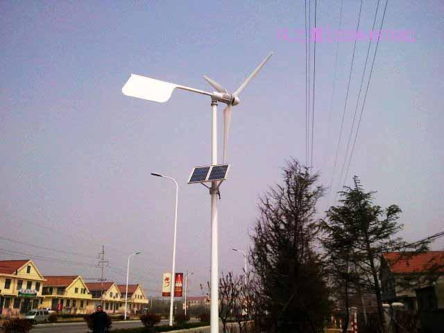 供应风力发电机组风光互补路灯系统直销