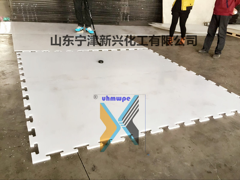 白色纯料超高分子量聚乙烯板