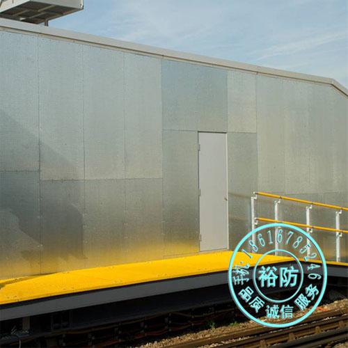 上海地区彩钢泄爆系列钢结构屋面彩色压型钢板