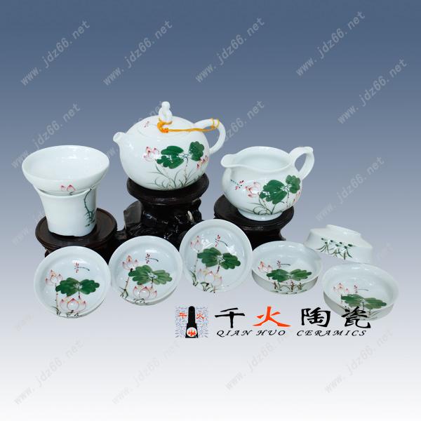 景德镇手绘青花茶具厂家批发电话