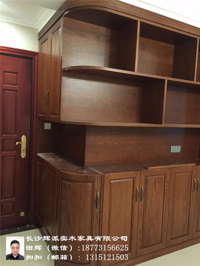 湖南定制实木家具、长沙实木柜门、推拉门定制榫卯结构