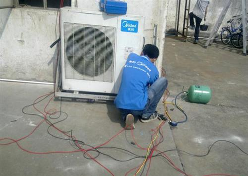 石家庄美的空调加氟_长丰家电制冷维修公司_石家庄美的空调维修