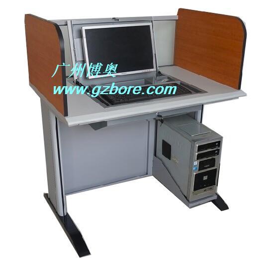 广州遥控屏风升降架电脑桌厂家价格报价