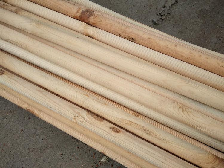 原木方料凉亭立柱仿古建筑主梁木桩 圆柱子